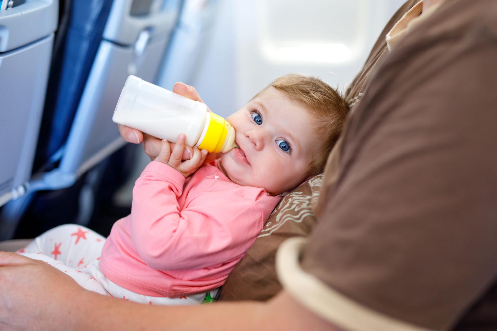 Питание для младенца на борт самолета