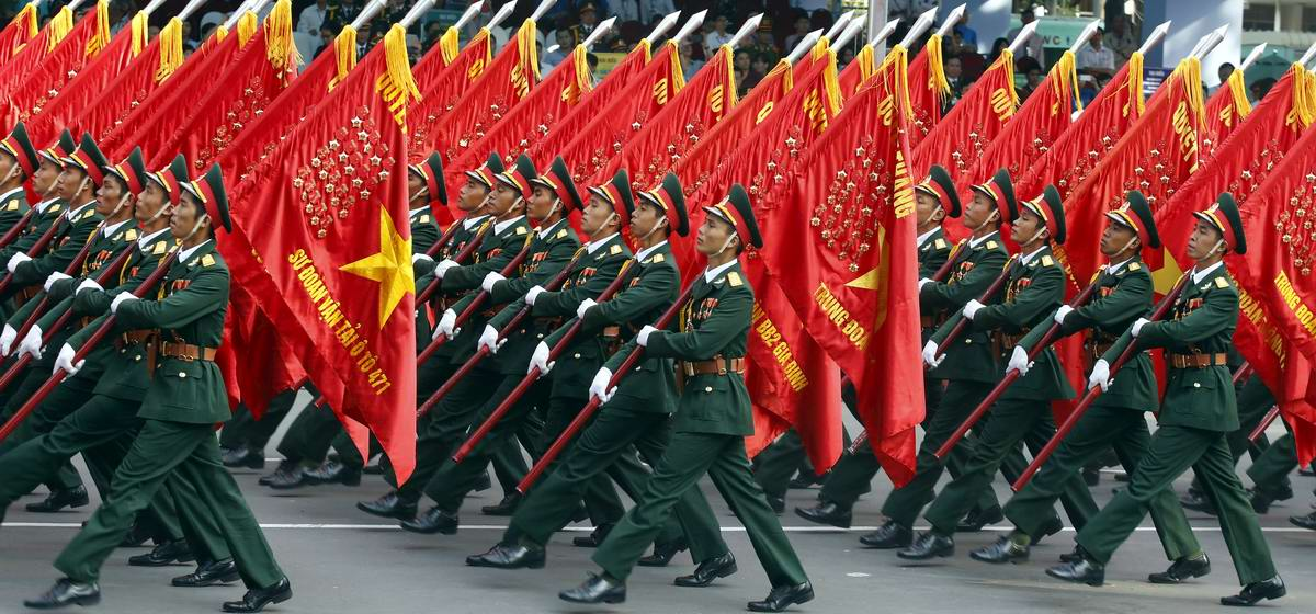 the communist victory in the vietnam The city once known as saigon was festooned in red banners that read 'long live the glorious party of vietnam,' 40 years after communist forces seized control of the country.